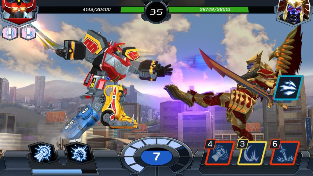 Power Rangers Legacy Wars Mod Apk