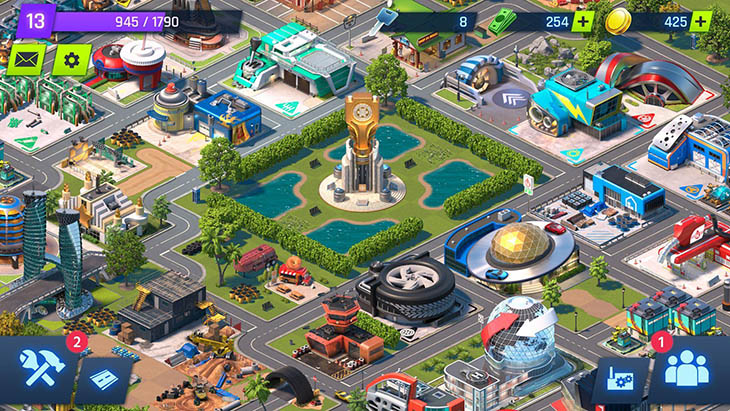 Overdrive City Mod Apk