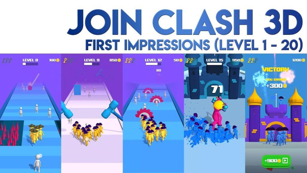 Join Clash 3D Mod Apk
