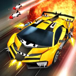 Chaos Road Combat Racing Mod Apk